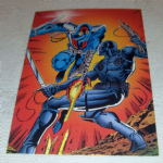 GI Joe 1994 30th salute trading cards